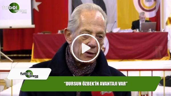 """Faruk Süren: """"Dursun Özbek'in avantajı var"""""""