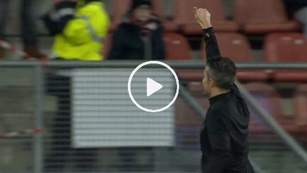 Feyenoord taraftarından Van Persie'ye sevgi seli