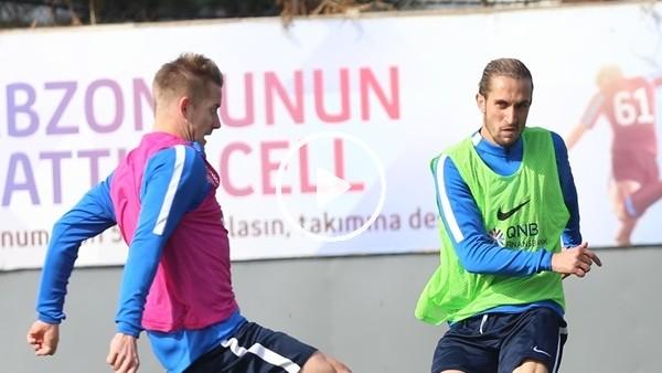 Trabzonspor, 6 eksikle çalıştı