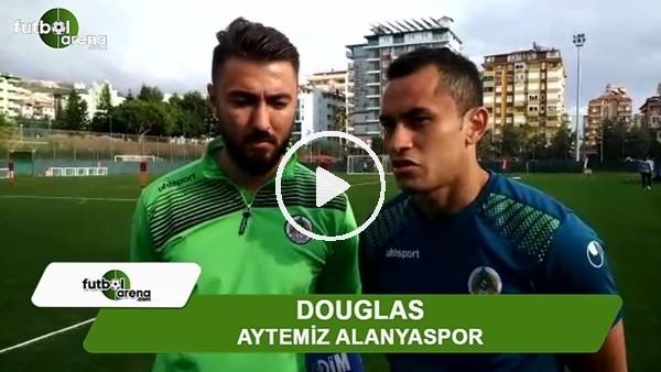 """Douglas: """"Kazanalım yeterki kimin gol attığı önemli değil"""""""