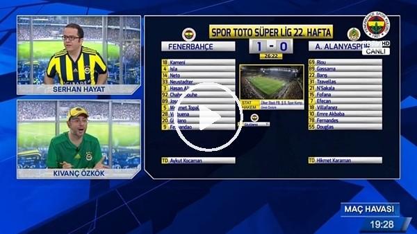 Fernandao'nun Alanyaspor'a attığı golde FB TV!
