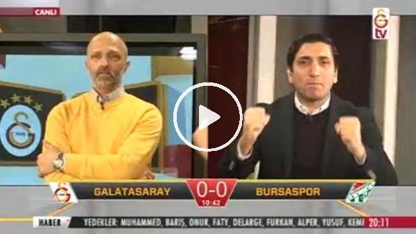 Gomis'in Bursaspor'a attığı golde GS TV!