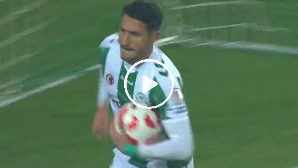 Jahovic, Konyaspor formasıyla ilk golünü Galatasaray'a attı