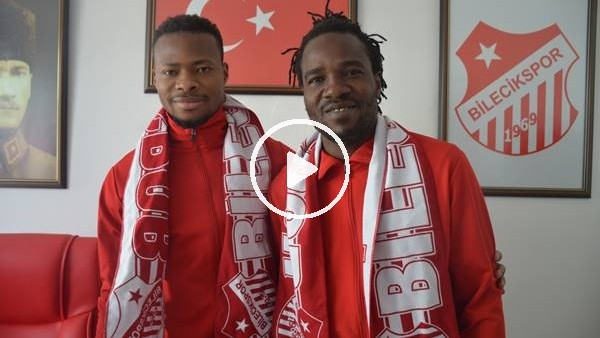 Bilecikspor, Malili iki oyuncuyu 6 aylığına renklerine bağladı