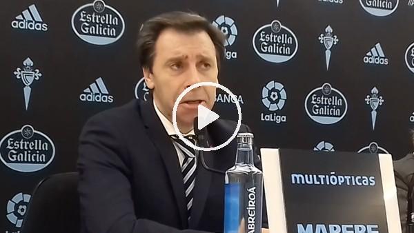 """'Celta Vigo Sportif Direktörü Felipe Minambres: """"Emre Mor'u satmayı düşünmüyoruz"""""""