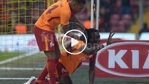 Galatasaray - Antalyaspor maçından kareler