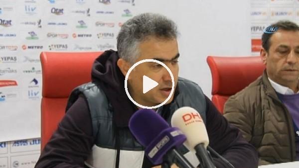 """Mehmet Altıparmak: """"Beraberliğe üzüleceğimiz maçı kaybettik"""""""