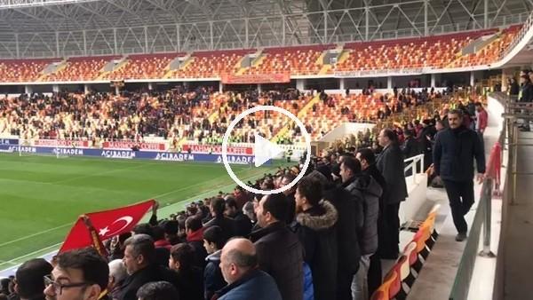 Yeni Malatyaspor - Karabükspor maçında tribünler