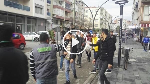 Akhisarspor taraftarı Galatasaray maçı için stada gidiyor