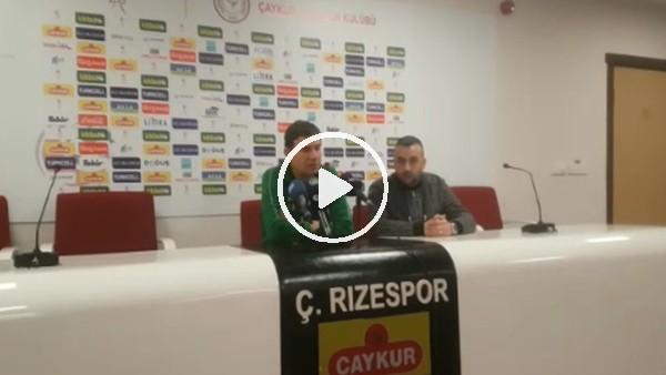 Giray Bulak'ın Rizespor maçı sonrası açıklamaları