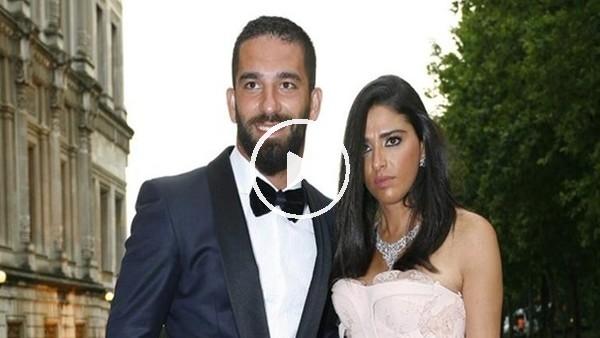 Arda Turan, sevgilisiAslıhan Doğan'a evlenme teklifi etti