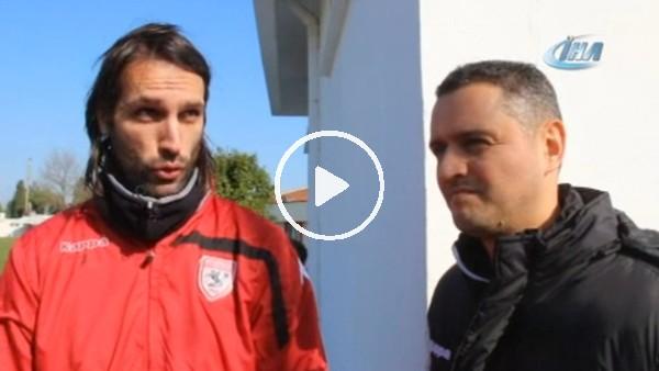 """Samaras: """"Oynadığım oyundan zevk alıyorum"""""""