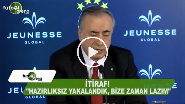 """Mustafa Cengiz: """"Hazırlıksız yakalandık, bize zaman lazım"""""""