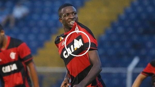 Vinicius Junior'un gol sevinci Botafogolu futbolcuları kızdırdı