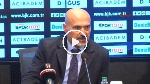 Levent Açıkgöz'ün Beşiktaş maçı sonrası açıklamaları