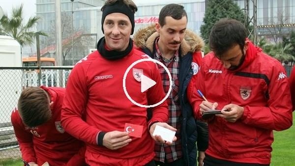 Samsunsporlu futbolculardan Afrin'deki askerlere destek mesajı