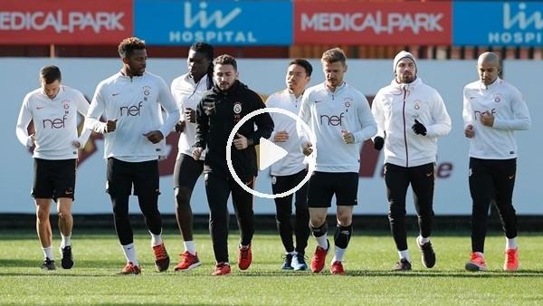 Galatasaray, Antalyaspor maçının hazırlıklarına başladı