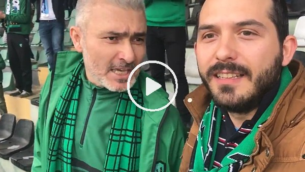 'Kocaelispor - Tekirdağspor maçının tribün hikayesi