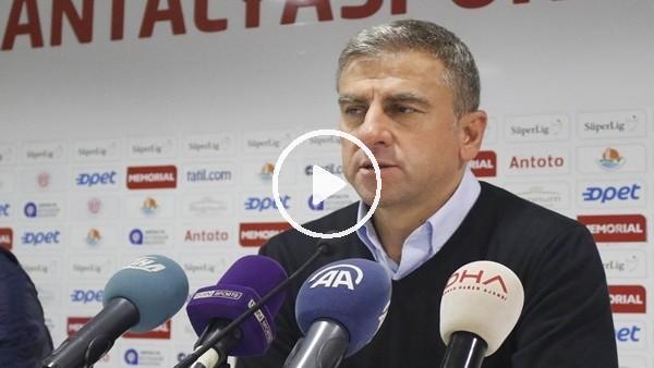 """Hanza Hamzaoğlu: """"Zor bir maçı kazandık"""""""