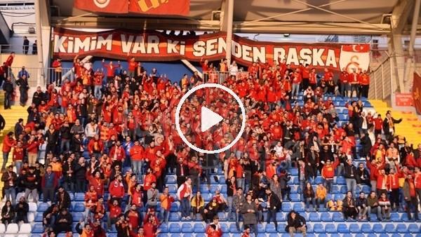 Kasımpaşa deplasmanında Galatasaray tribünleri