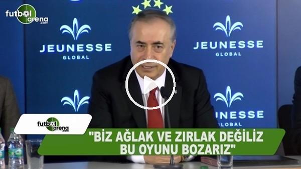"""Mustafa Cengiz: """"Biz ağlak ve zırlak değiliz"""""""
