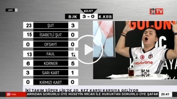 Talisca'nın frikik golü BJK TV spikerlerini coşturdu