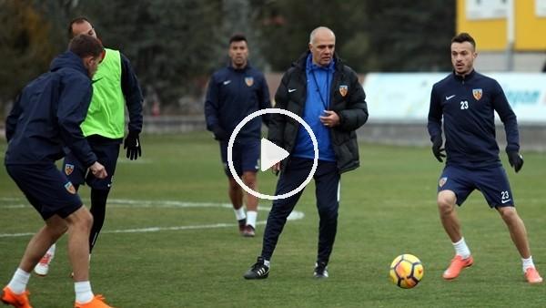Kayserispor'da Bursaspor maçı hazırlıkları