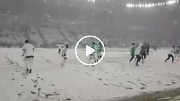 Juventus-Atalanta maçı kar yağışı nedeniyle ertelendi
