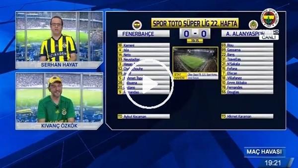 Giuliano'nun Alanyaspor'a attığı golde FB TV!