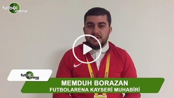 """Memduh Borazan: """"Kayserispor beraberliğie razı oldu"""""""