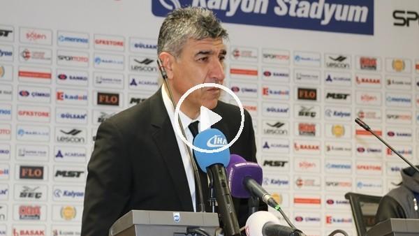 """Sait Karafırtınalar: """"İki haftadır çok gol kaçırıyoruz"""""""