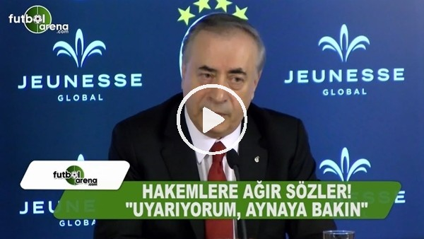 Mustafa Cengiz'den hakemlere ağır sözler!