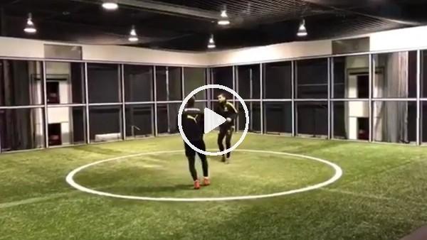 'Nuri Şahin ve Mario Götze'den futbol resitali