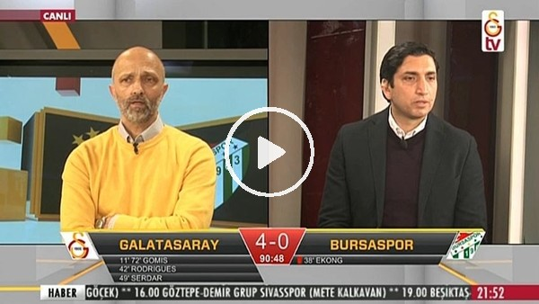 Gomisîn hat-trick golünde GS TV!