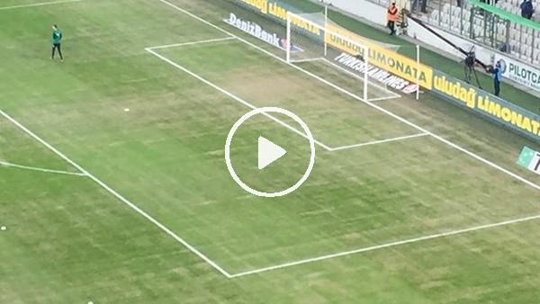 Bursa'da maç öncesi zeminde son durum