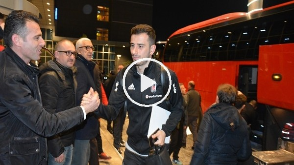 Beşiktaş kafilesi Bursa'ya geldi