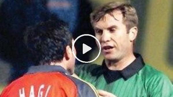 Gheorghe Hagi, kariyerinde ilk kırmızı kartını Fenerbahçe maçında gördü