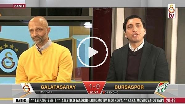 Garry Rodrigues'in Bursaspor'a attığı golde GS TV