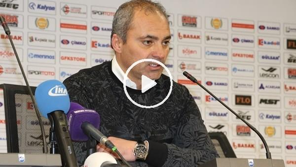 """Erkan Sözeri: """"Mücadele kalitesi yüksek bir maç oynadığımızı düşünüyorum"""""""