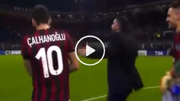 Hakan Çalhanoğlu, hocası Gattuso'yu ti'ye aldı!
