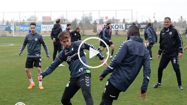 Atiker Konyaspor, Yeni Malatyaspor maçına hazırlanıyor