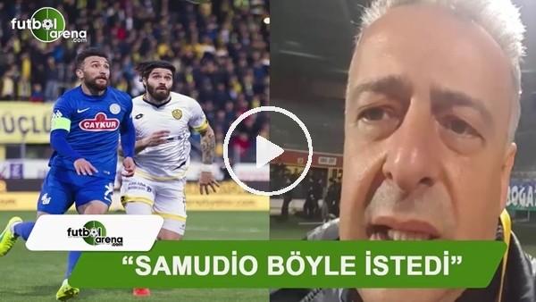 """FutbolArena Rize muhabiri Selim Denizalp: """"Sumudio böyle istedi"""""""