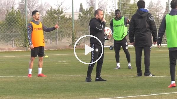 Atiker Konyaspor, Galatasaray maçı hazırlıklarına başladı