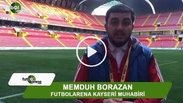 """Memduh Borazan: """"Kayserispor galibiyet hasretine son verdi"""""""