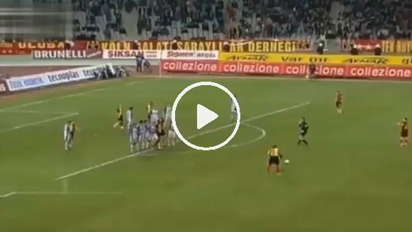 Cesar Prates, Galatasaray formasıyla son golünü Villarreal'e frikikten atmıştı