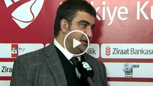 """Ümit Özat: """"Ben kimim Beşiktaş'ı tehdit edeceğim?"""""""