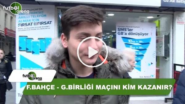 Fenerbahçe - Gençlerbirliği maçını kim kazanır?