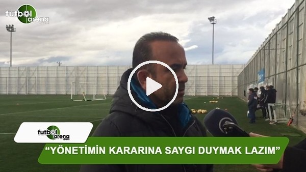 Mehmet Özdilek'ten Ali Çamdalı açıklaması