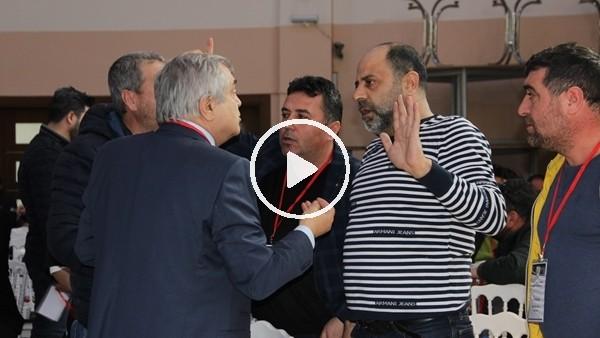 Manisaspor'un gergin kongresinde başkan Gökay Budak oldu