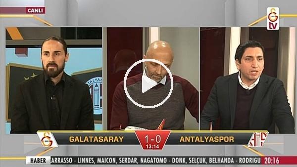 Gomis'in Antalyaspor'a attığı golde GS TV!